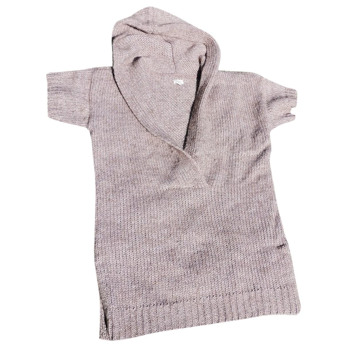 Hoss Intropia - Pull   pour femme en laine - beige