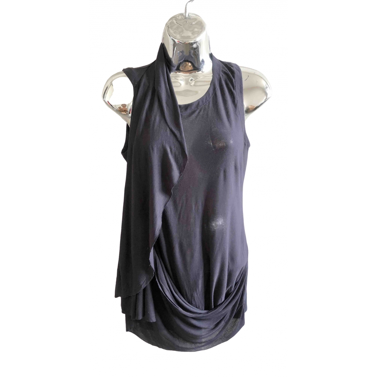 Mm6 \N Blue Cotton  top for Women S International
