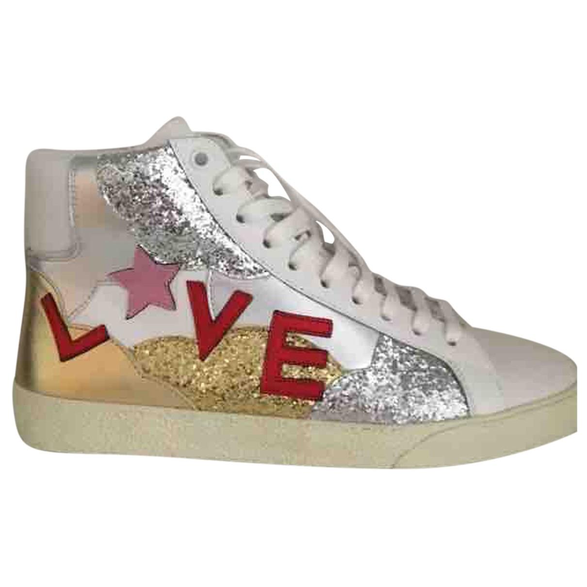 Saint Laurent \N Sneakers in  Bunt Leder