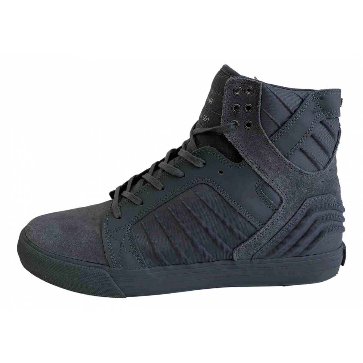 Supra - Baskets   pour homme en suede - gris
