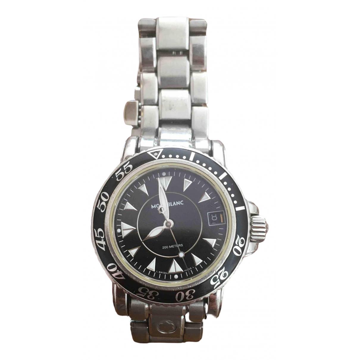 Montblanc Meisterstuck Silver Steel watch for Women \N