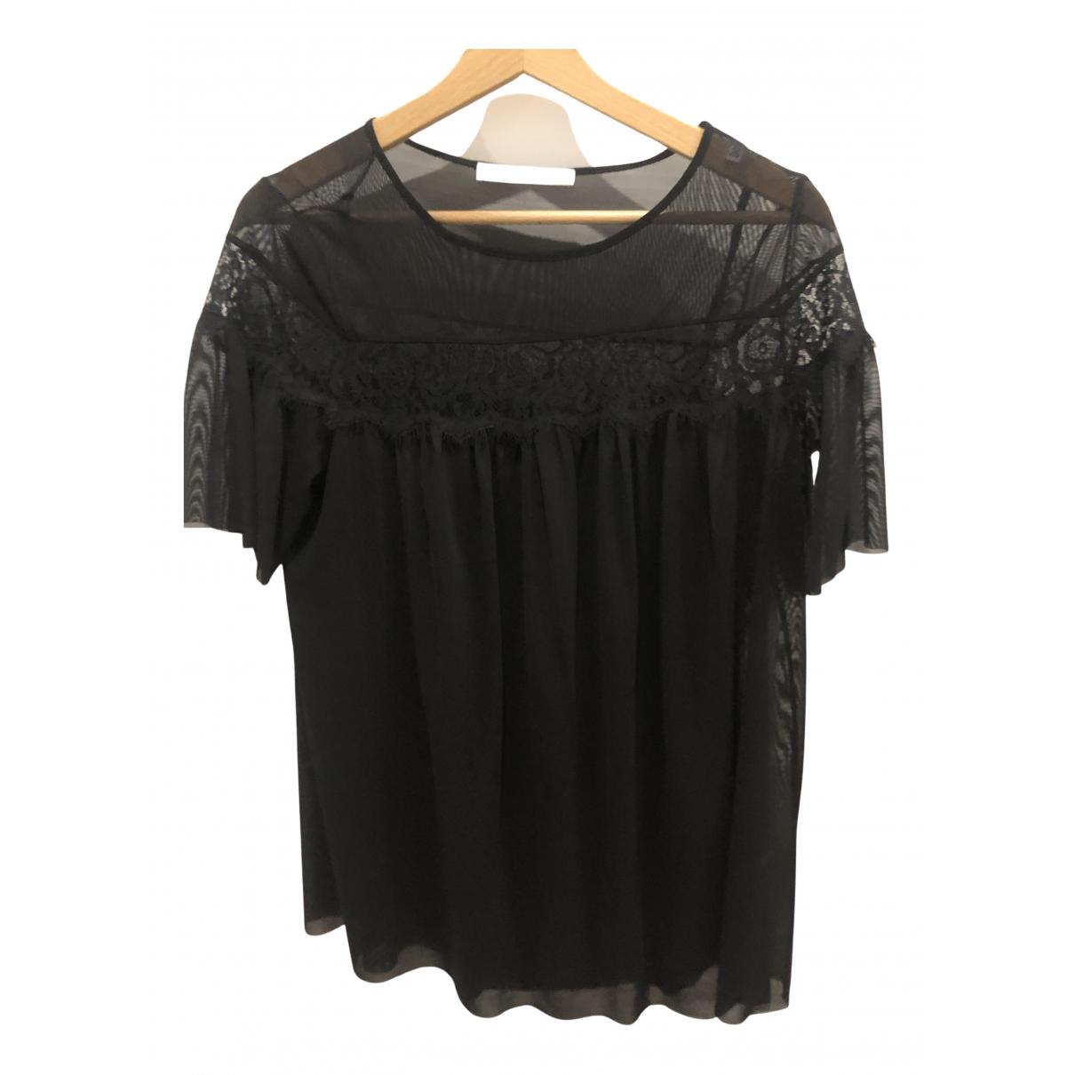 Uterque - Top   pour femme - noir