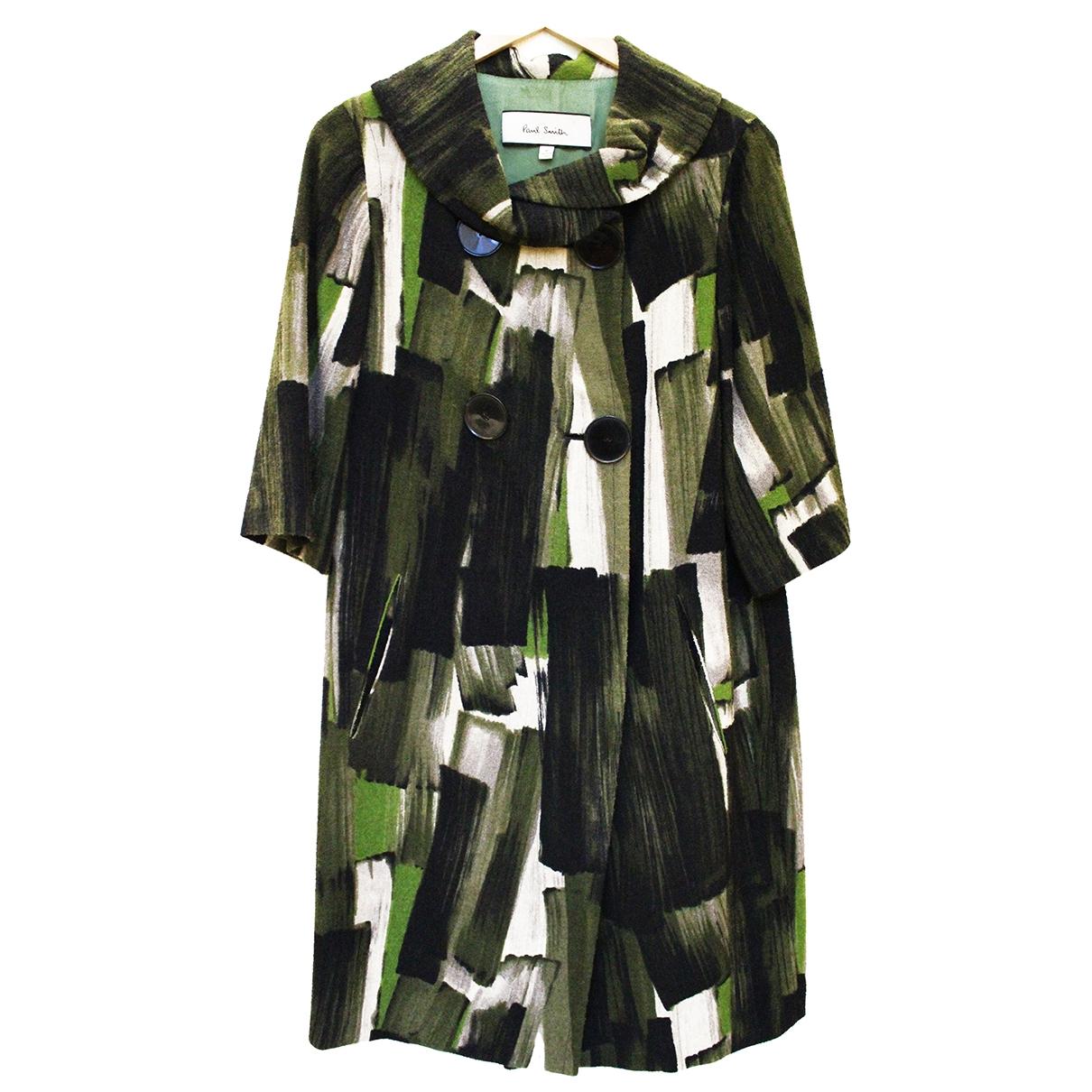 Paul Smith - Manteau   pour femme en laine - vert
