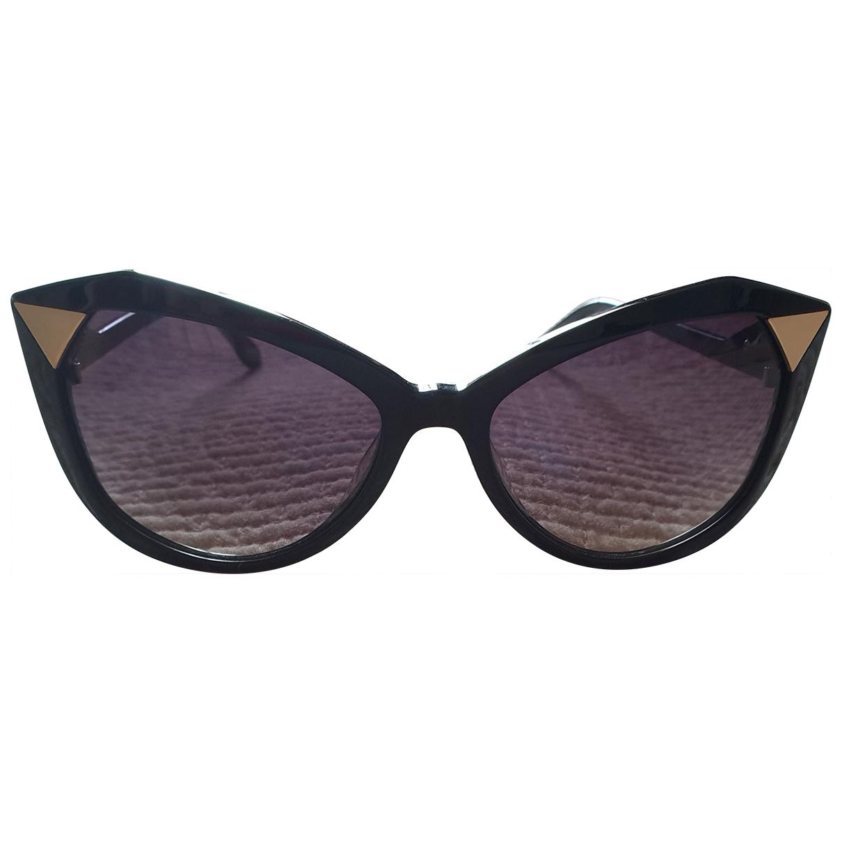 Valentin Yudashkin \N Sonnenbrillen in  Schwarz Kunststoff