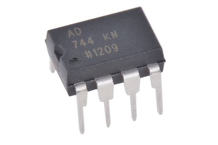 Analog Devices AD744KNZ , Op Amp, 13MHz, 8-Pin PDIP