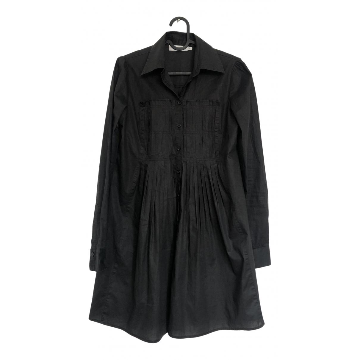 Gestuz N Black Cotton dress for Women 34 FR