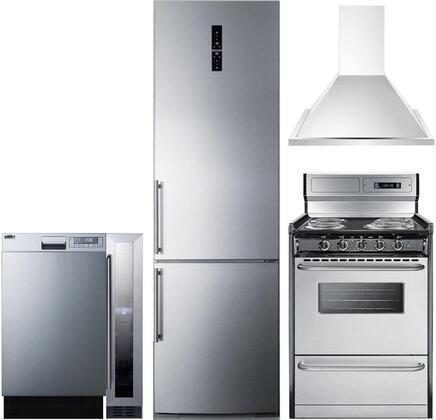 5 Piece Kitchen Appliances Package with FFBF181ESIM 24