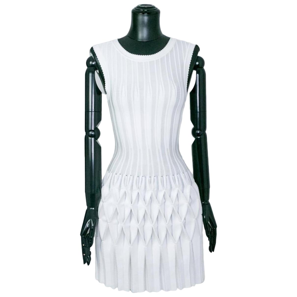 Alaia - Robe   pour femme - blanc