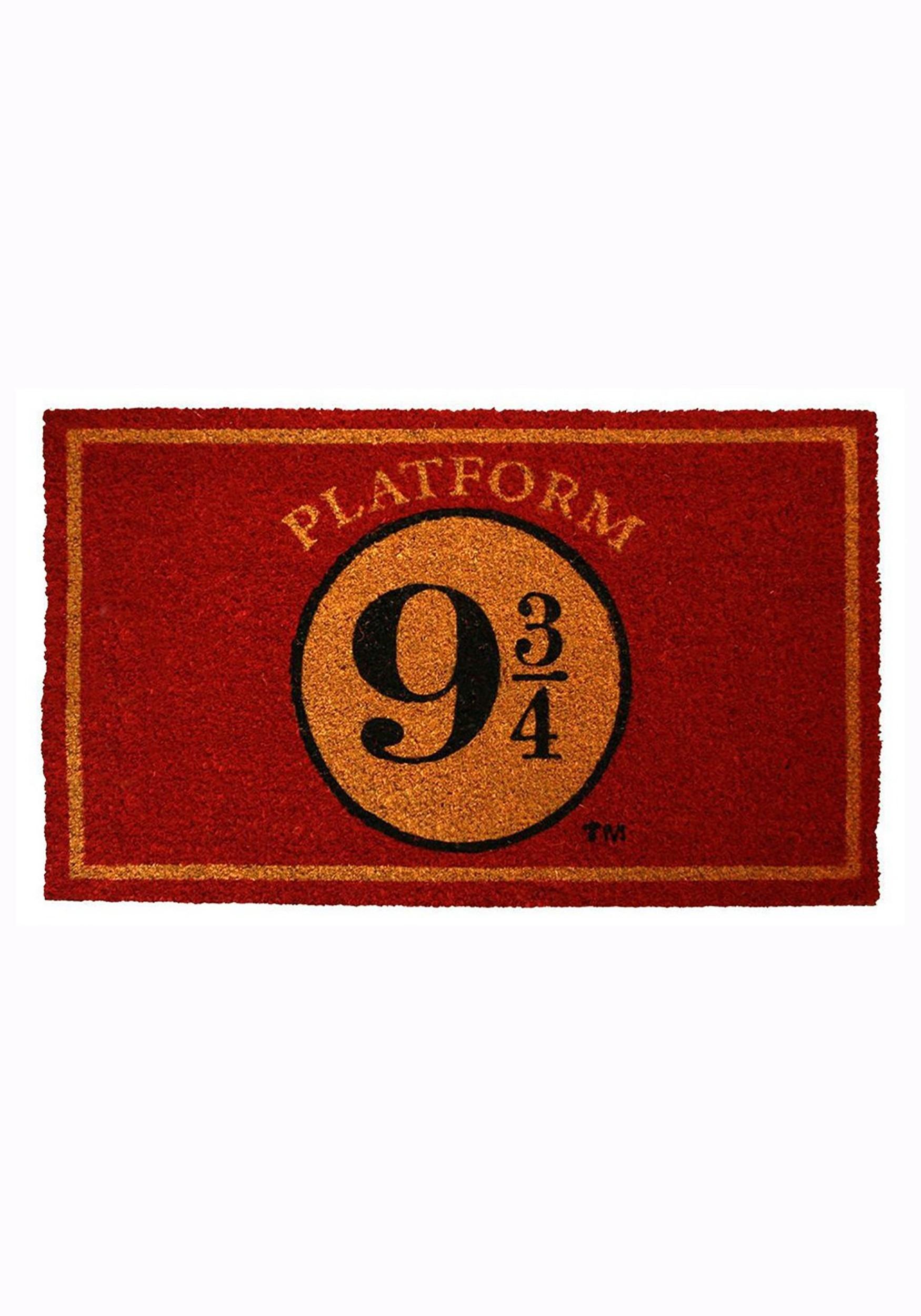 Harry Potter Platform 9 and 3/4 Doormat