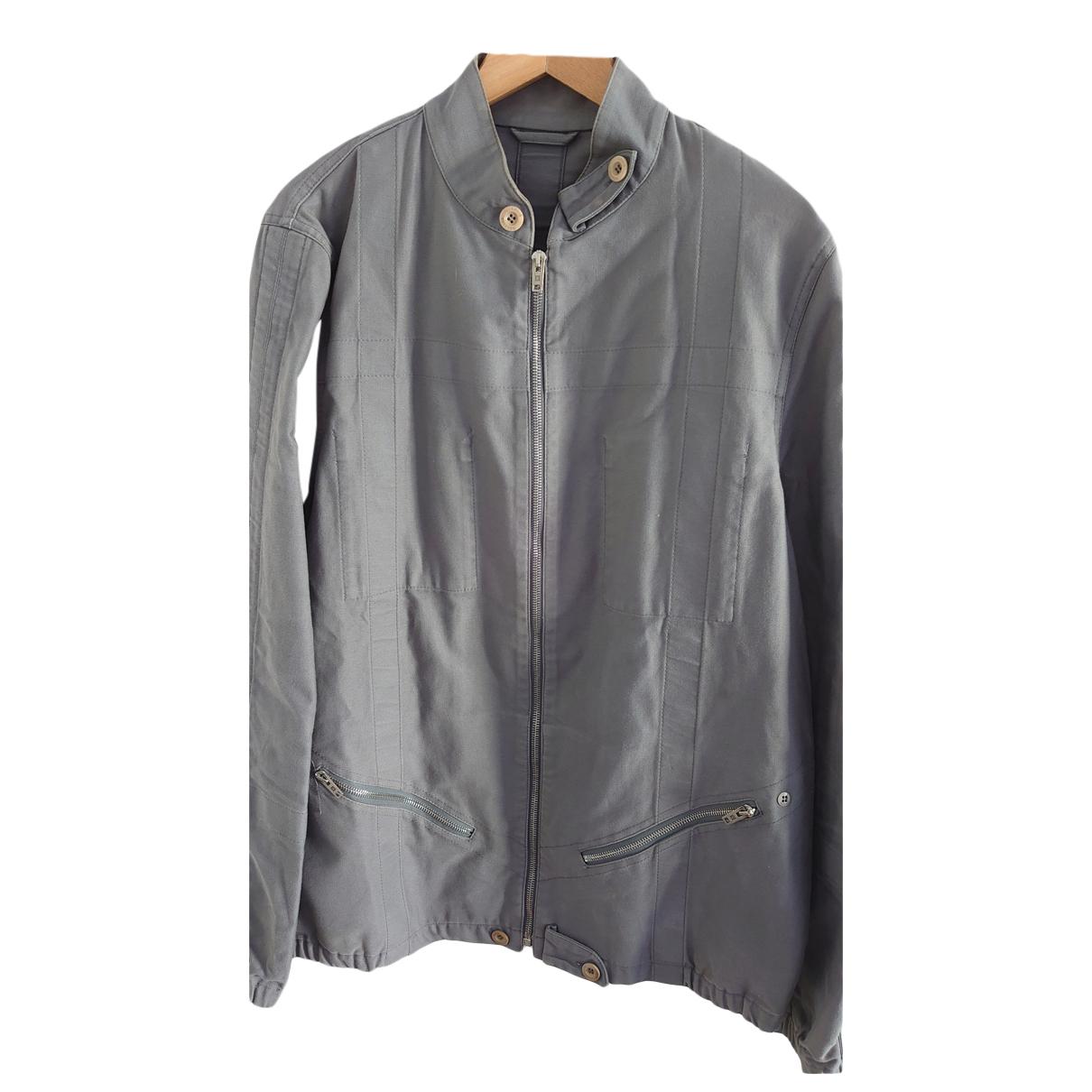 Louis Vuitton N Grey Cotton jacket  for Men M International