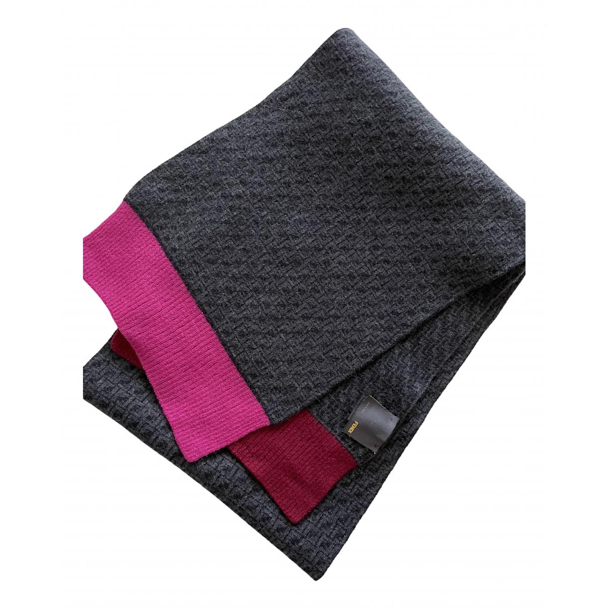 Fendi \N Tuecher, Schal in  Bunt Wolle