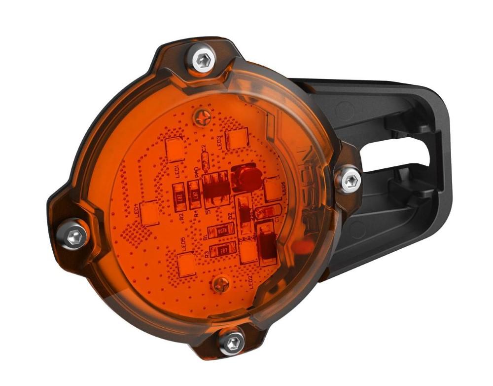Bison Offroad UL-0505 LED Rock Lights Kit 600 Lumen Universal YAK Series Amber 2 Pack