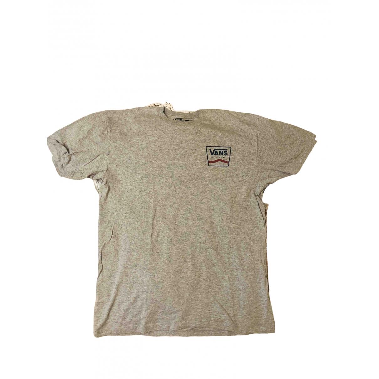 Vans - Tee shirts   pour homme en coton - gris