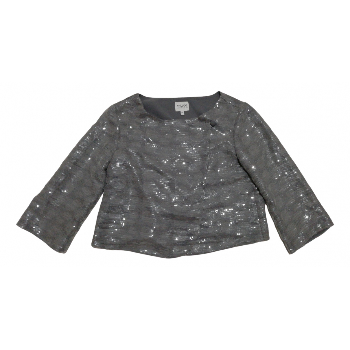 Armani Collezioni - Veste   pour femme - gris
