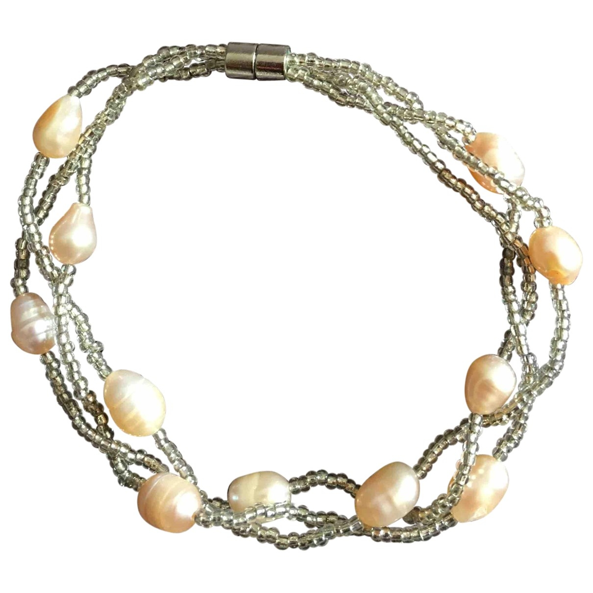 Non Signé / Unsigned \N Pearls bracelet for Women \N