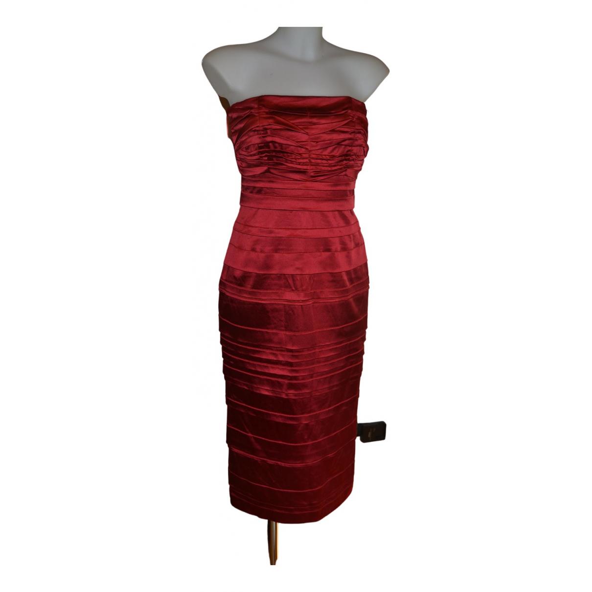 Philosophy Di Alberta Ferretti \N Kleid in  Rot Synthetik