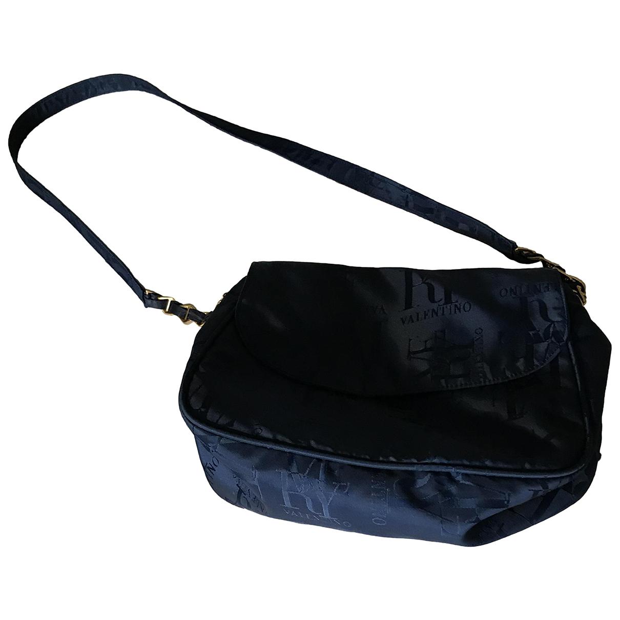 Valentino Garavani \N Handtasche in  Blau Leinen