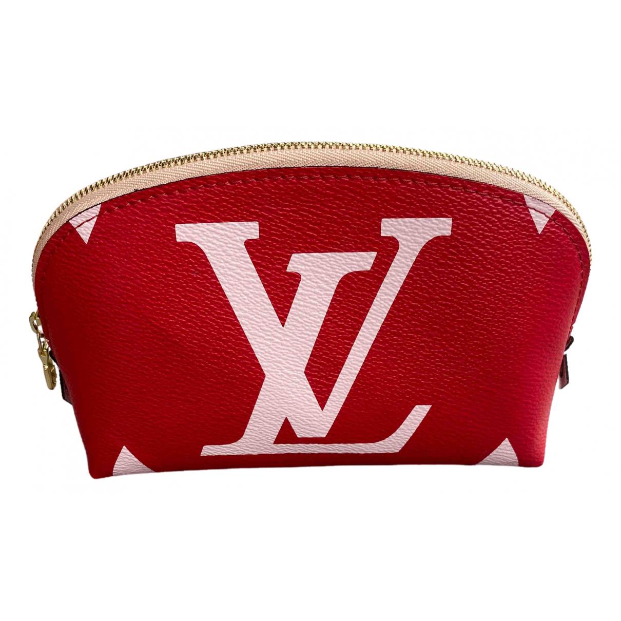 Louis Vuitton \N Pink Cloth Travel bag for Women \N