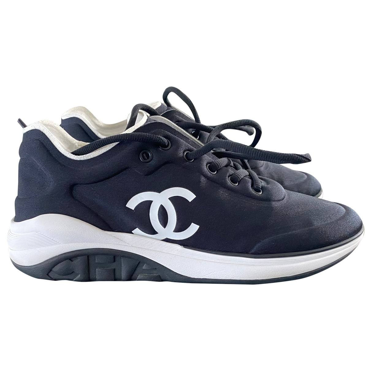 Chanel \N Navy Trainers for Men 43 EU
