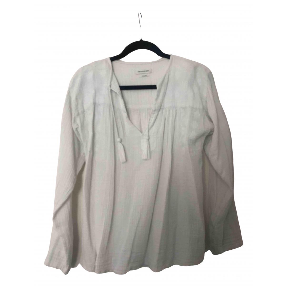 Isabel Marant Etoile - Top   pour femme en coton - ecru