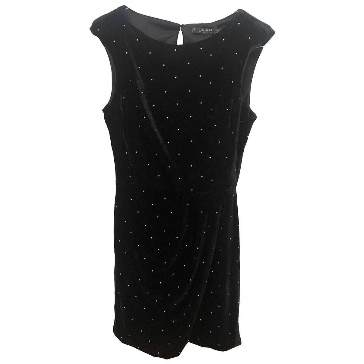 Zara \N Black Velvet dress for Women S International