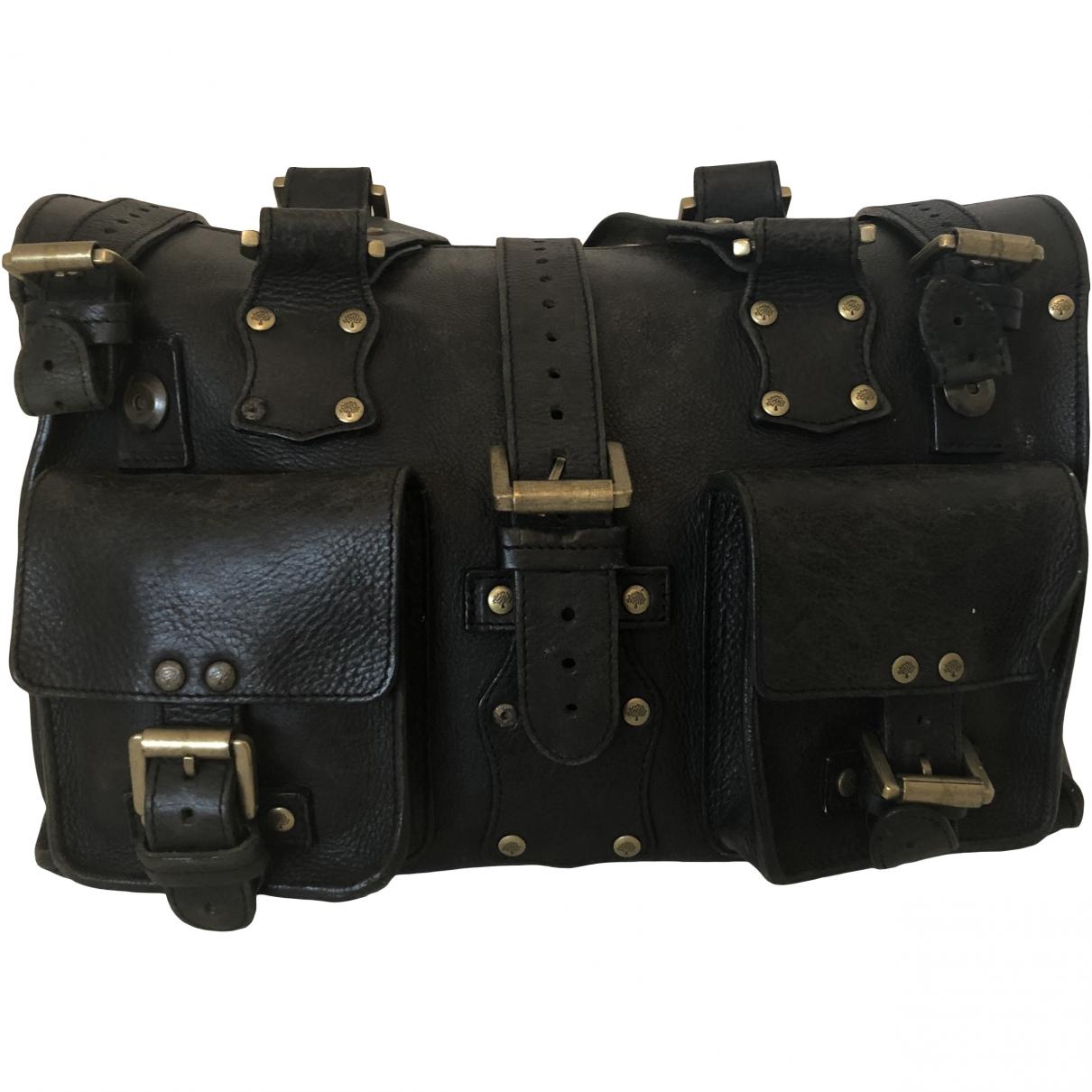 Mulberry Roxanne Black Leather handbag for Women \N