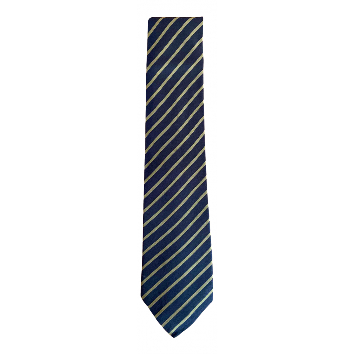 Giorgio Armani \N Krawatten in  Blau Wolle