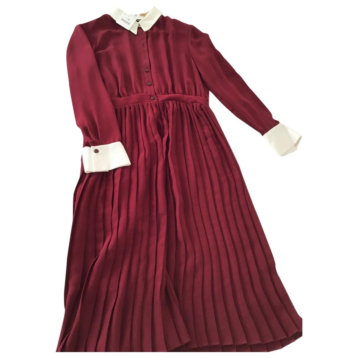Zara - Robe   pour femme - bordeaux