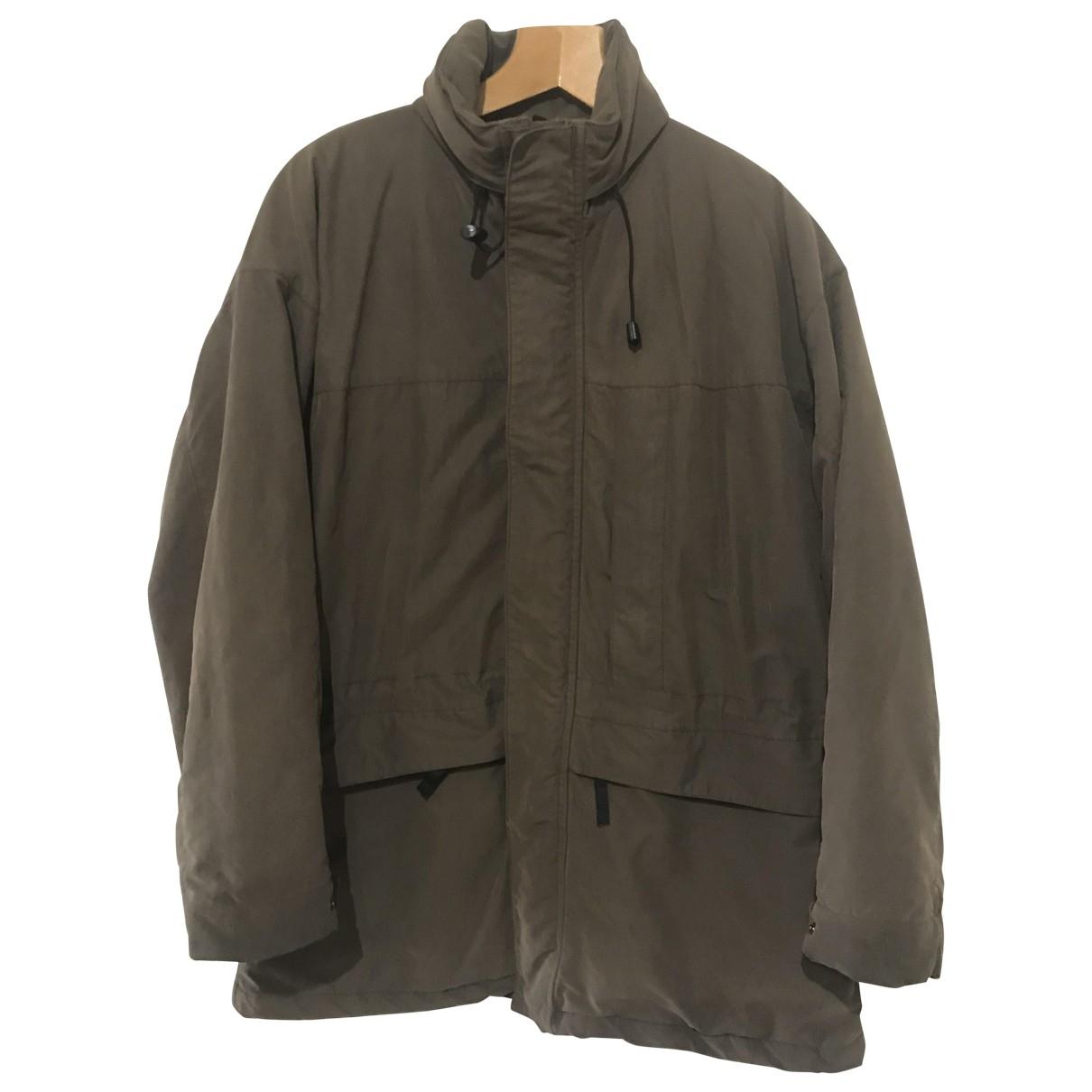 Armani Collezioni \N Brown jacket  for Men 50 IT