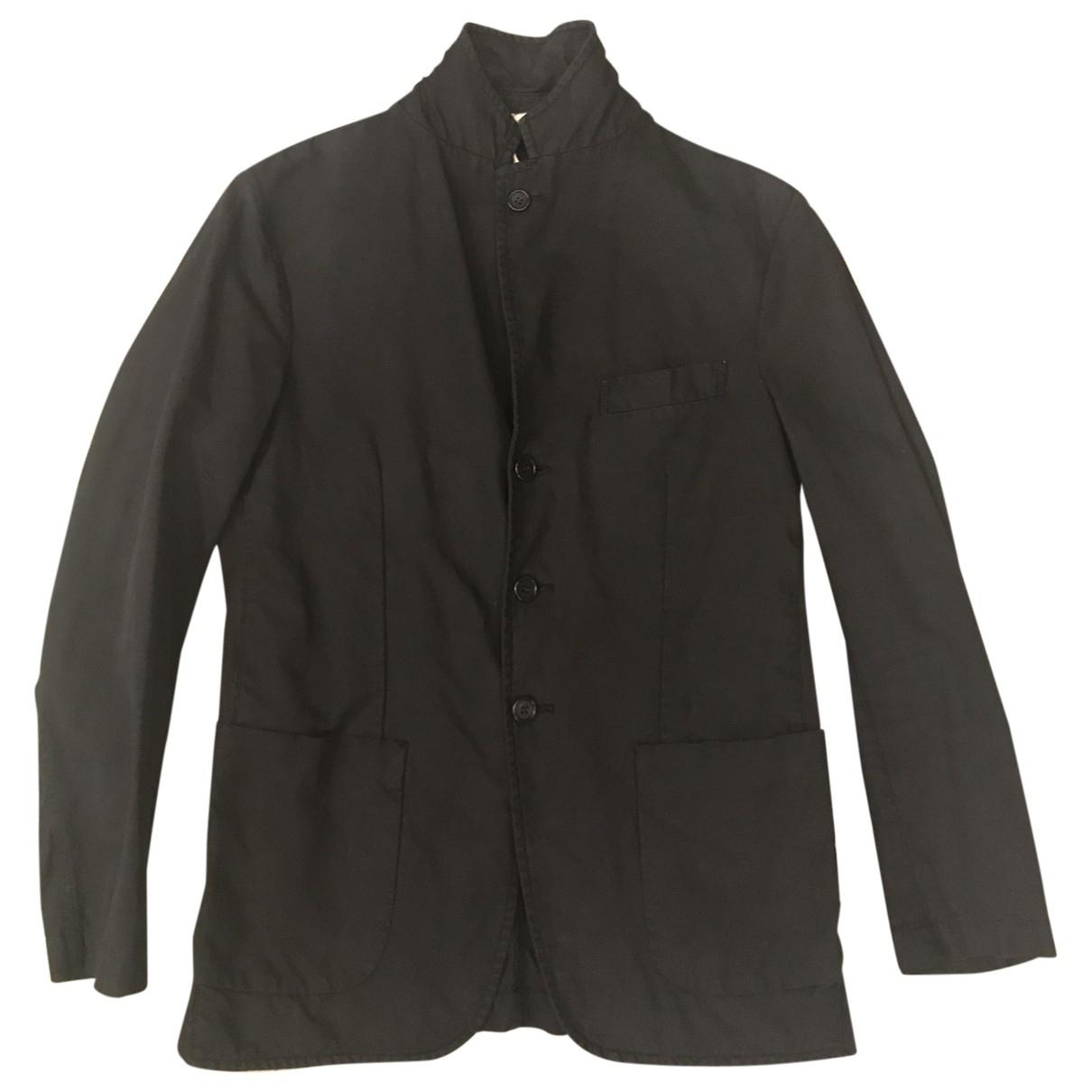Aspesi - Vestes.Blousons   pour homme en coton - noir