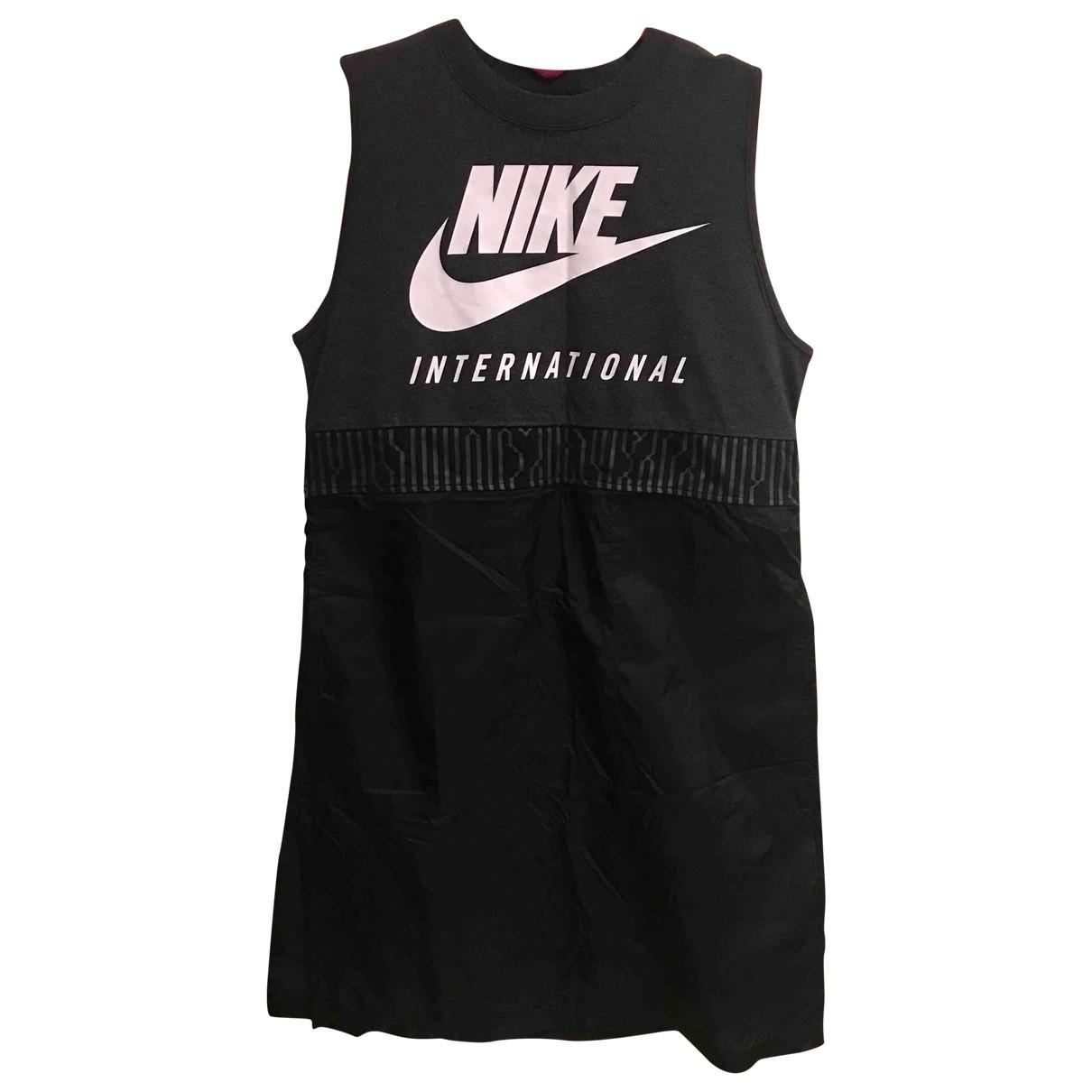 Nike \N Top in  Schwarz Baumwolle