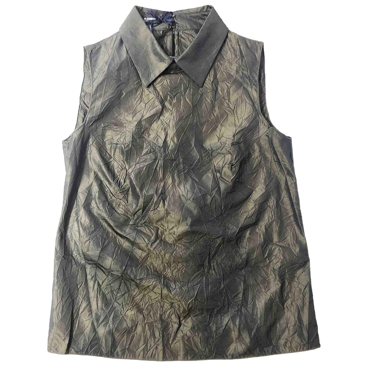 Jil Sander \N Top in  Gruen Polyester