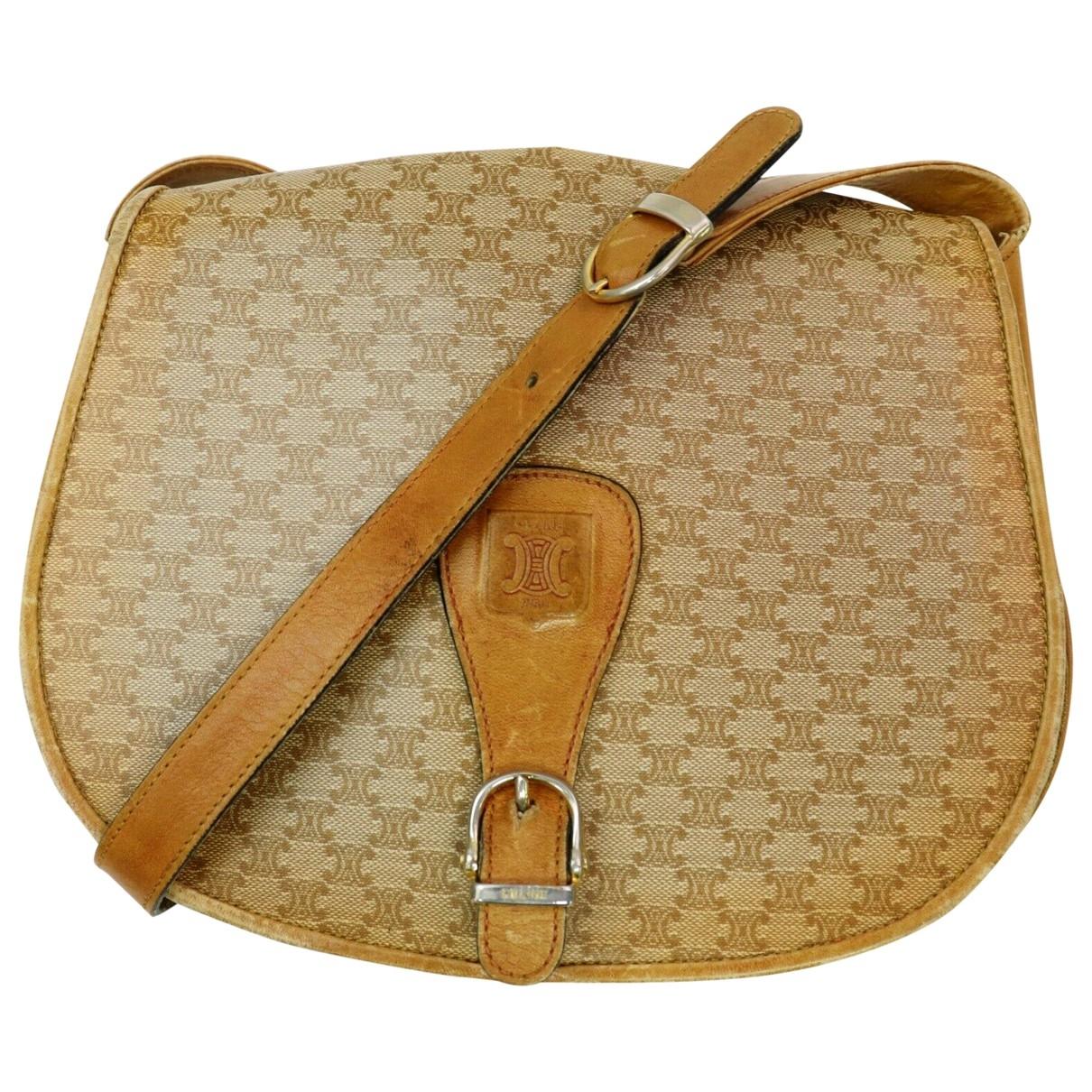 Celine \N Handtasche in  Braun Synthetik