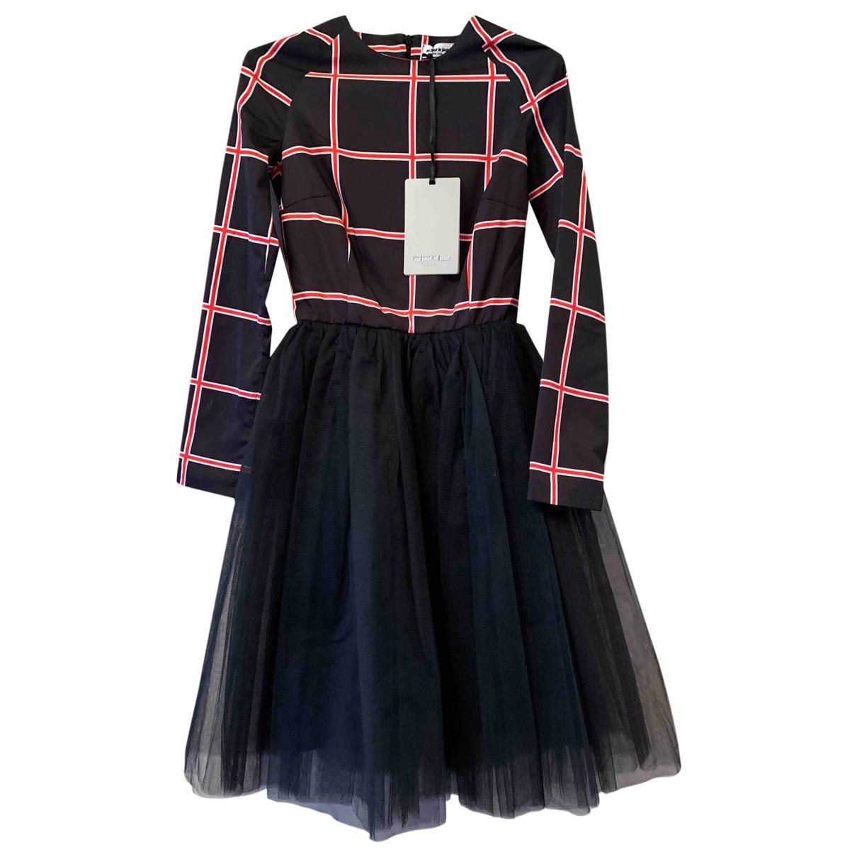Au Jour Le Jour \N Kleid in  Schwarz Polyester