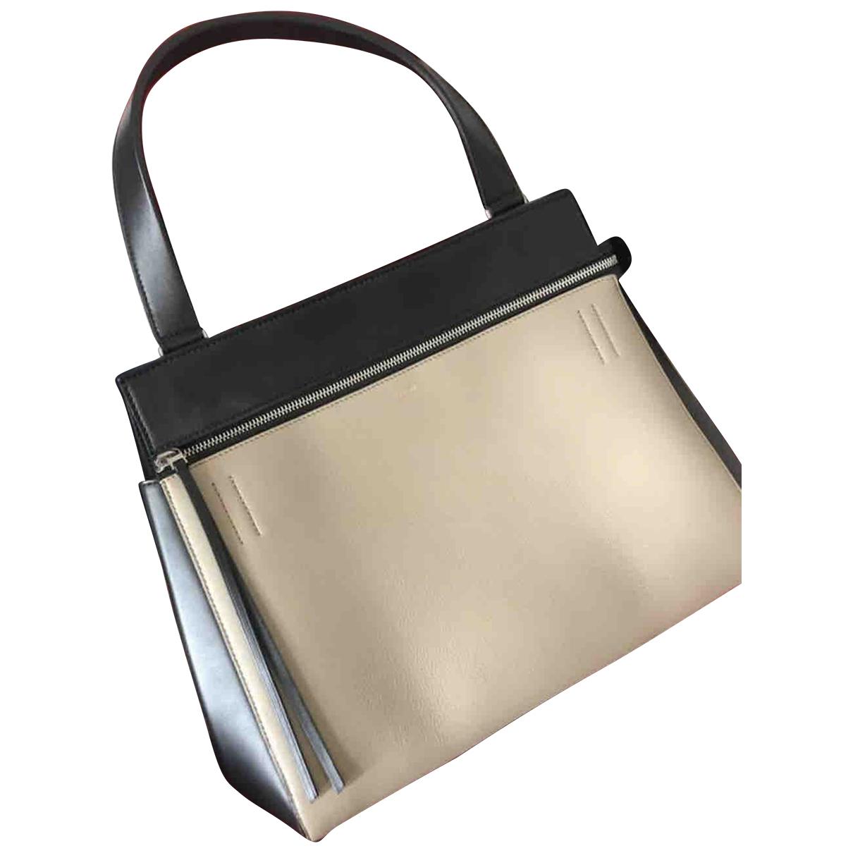 Celine Edge Beige Leather handbag for Women N