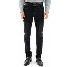 Jeans mit geradem Beinschnitt ohne Guertel