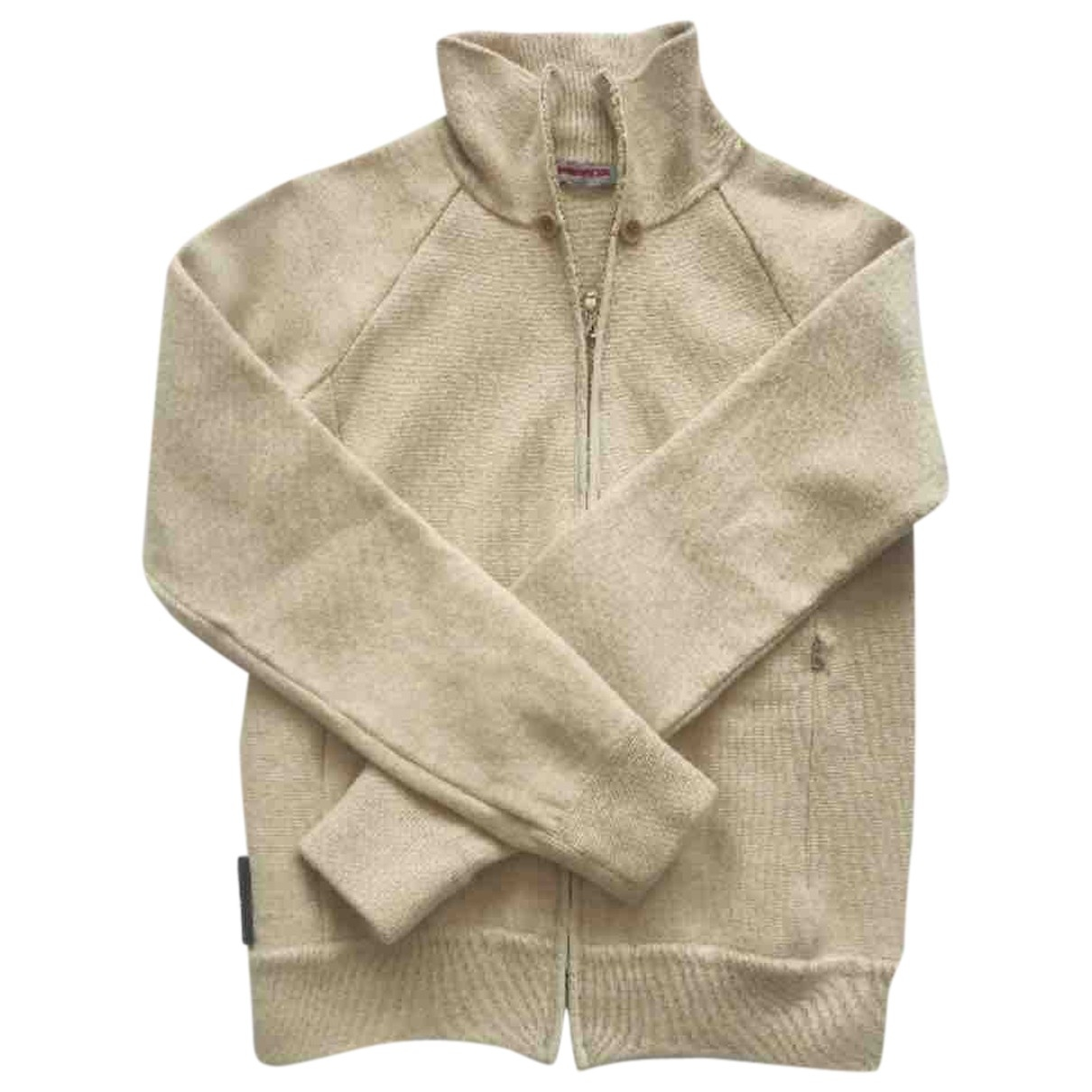 Prada \N Beige Wool Knitwear for Women 42 IT