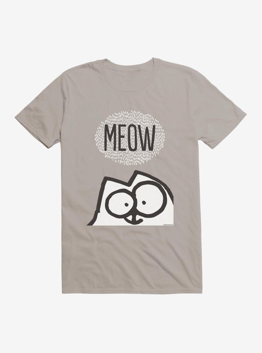 Simon's Cat Meow T-Shirt