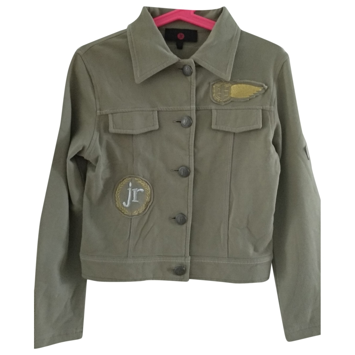 John Richmond \N Navy Cotton jacket & coat for Kids 6 years - up to 114cm FR
