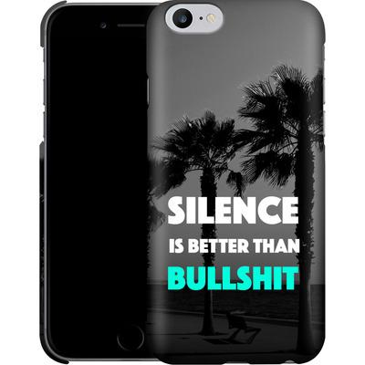 Apple iPhone 6 Plus Smartphone Huelle - Silence Is Better von Statements