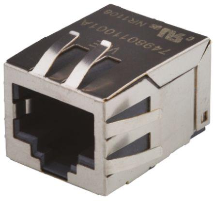 Wurth Elektronik , Female RJ45 Connector