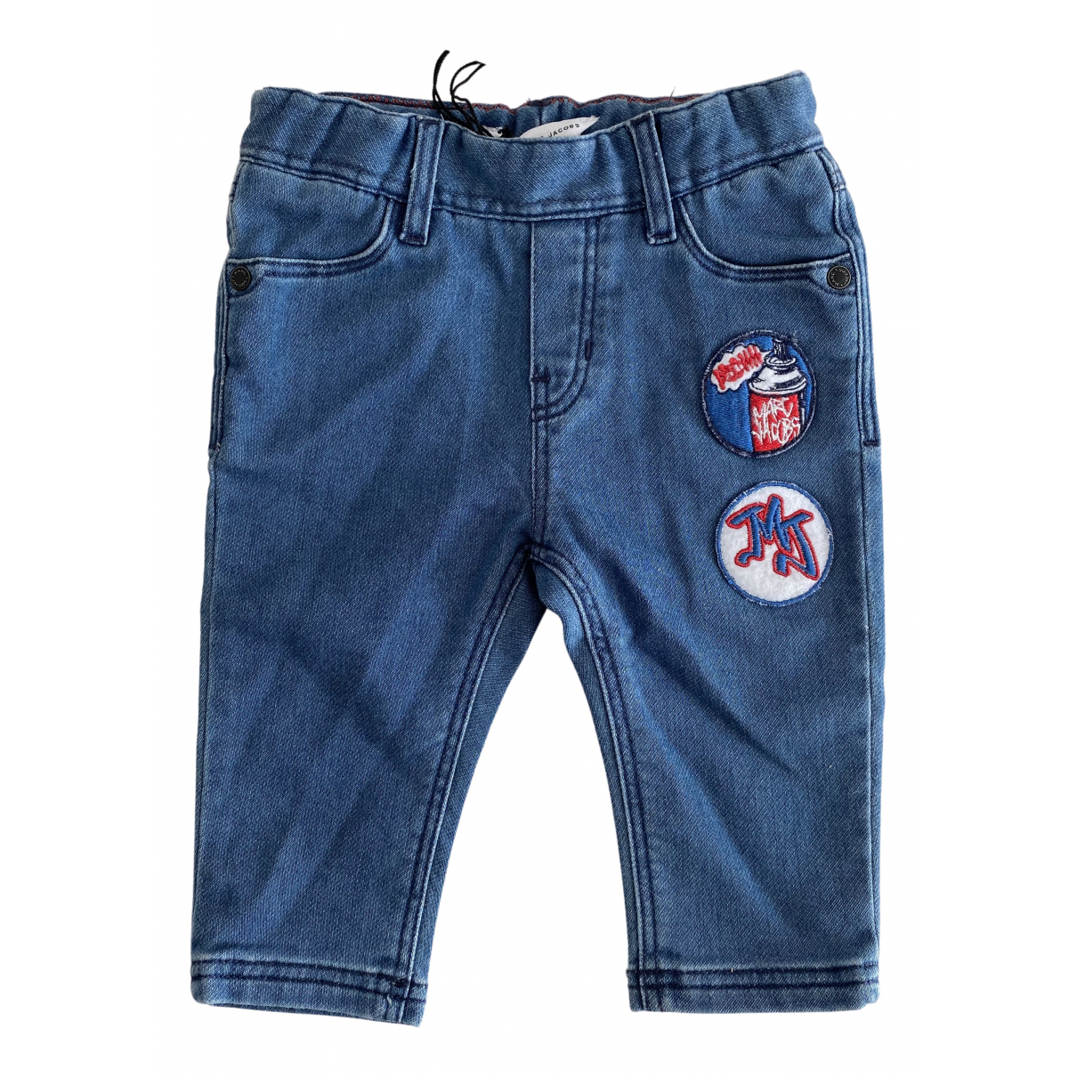 Little Marc Jacobs N Blue Cotton Trousers for Kids 6 months - up to 67cm FR
