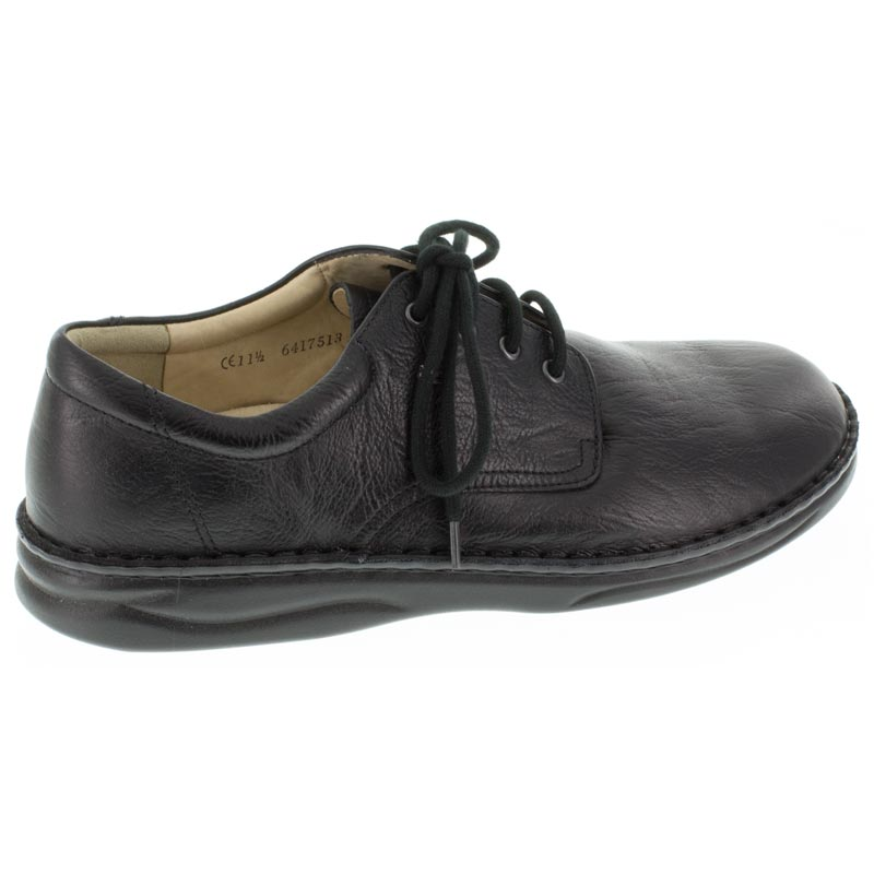 Finn Comfort Metz Black Leather 9 Uk