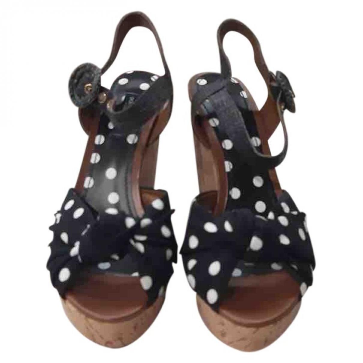 Sandalias de Cuero Dolce & Gabbana