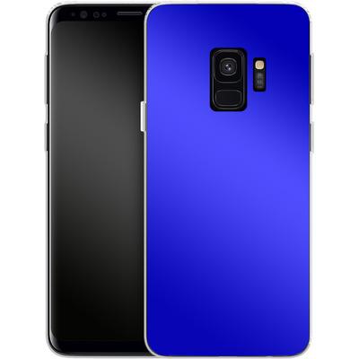 Samsung Galaxy S9 Silikon Handyhuelle - Test Blue von caseable Designs