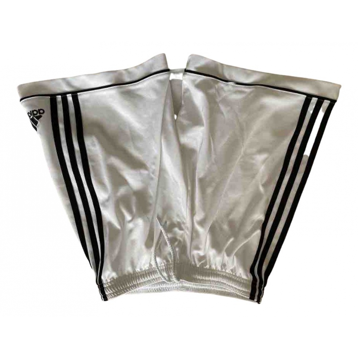 Adidas \N Shorts in  Weiss Polyester