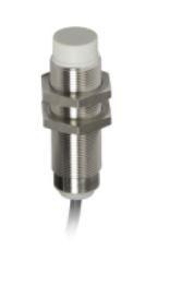 Telemecanique Sensors M18 x 1 Inductive Sensor - Barrel, PNP-NO Output, 12 mm Detection, IP69K, Cable Terminal