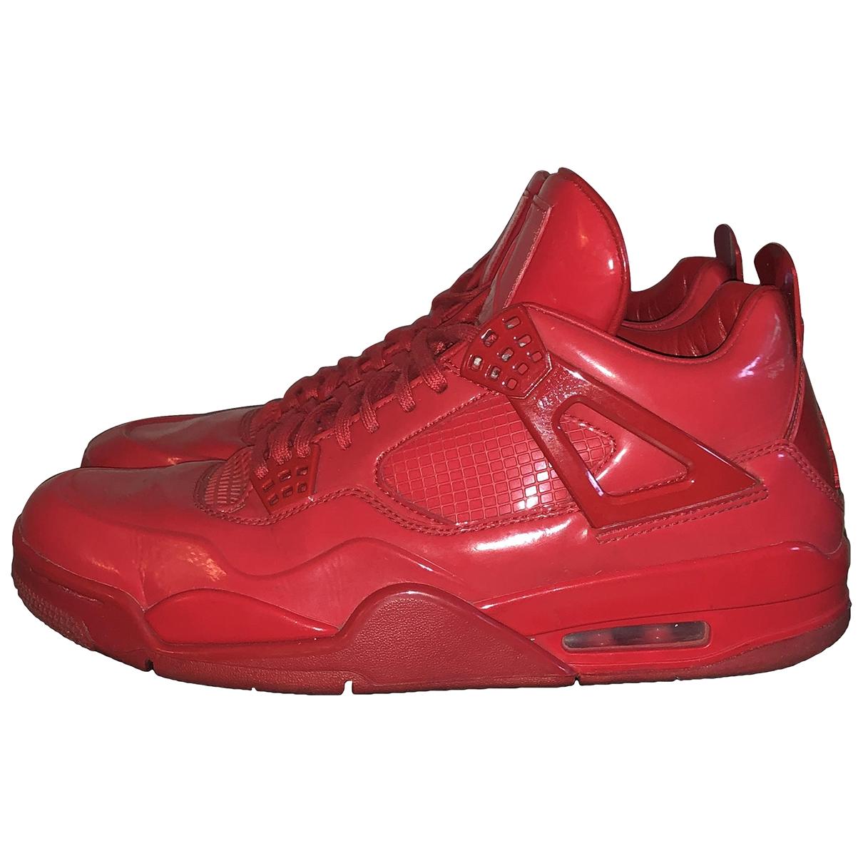 Jordan Air Jordan 11 Red Leather Trainers for Men 45 EU