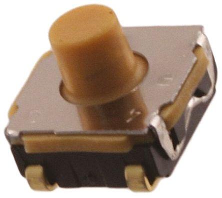 C & K IP67 Tactile Switch, Single Pole Single Throw (SPST) 50 mA @ 32 V dc 2.3mm