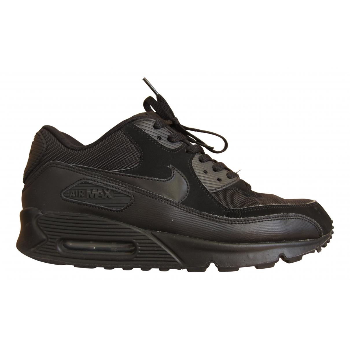 Nike Air Max 90 Black Cloth Trainers for Men 11 UK